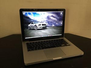 """13""""Macbook Pro/750GB hard drive 6GB ram/Pro Tools 10/Logic Pro X/Final Draft 10/GarageBand/FL Studio and more/Comes with Charger for Sale in Gardena, CA"""