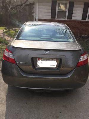 2007 Honda Civic manual for Sale in Rockville, MD
