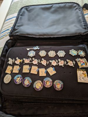 Lot of 29 collectible Disney pins from collection for Sale in Cary, NC