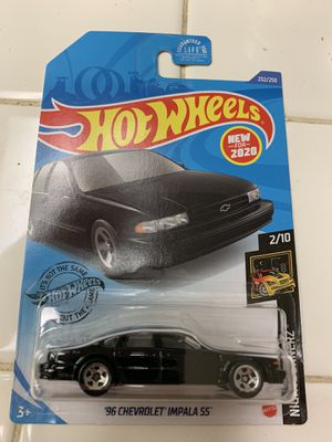 Hotwheels Chevy Impala SS for Sale in Temecula, CA