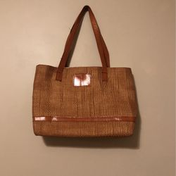 Woven Wicker Tote Bag for Sale in Fullerton,  CA