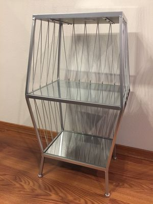 Glass and metal table for Sale in Everett, WA