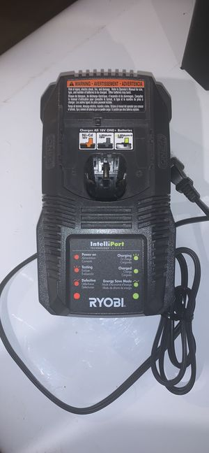 RYOBI 18V battery charger for Sale in Lombard, IL