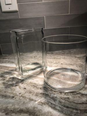 2 Glass Vases for Sale in Alexandria, VA