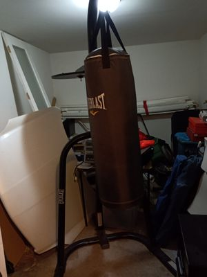 Everlast Punching Bag with speed bag for Sale in Phoenix, AZ