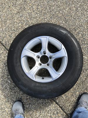 14inch travel trailer tire and rim for Sale in Puyallup, WA