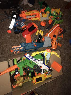Nerf gun lot for Sale in Hayward, CA