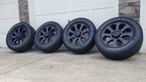 "Perfect. Brand new 2020 Ram laramie 8 lug factory 20"" rims and tires. Brand new both rims and tires for Sale in Spanaway, WA"