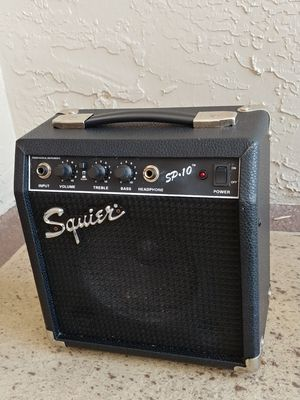 Squier SP-10 10 Watt Electric Guitar Practice Amp for Sale in Deerfield Beach, FL
