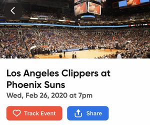 4 Clippers vs Suns Tickets! for Sale in Phoenix, AZ