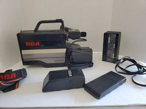 rca solid state image sensor vhs camcorder for Sale in Hesperia, CA