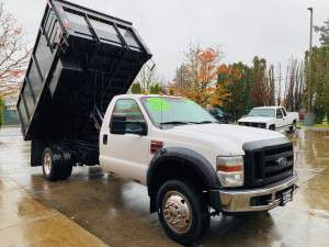 2008 FORD F450 DIESEL 12 FT DUMP TRUCK for Sale in Portland, OR