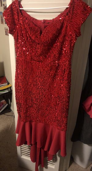 Red Sequin Dress for Sale in UNIVERSITY PA, MD