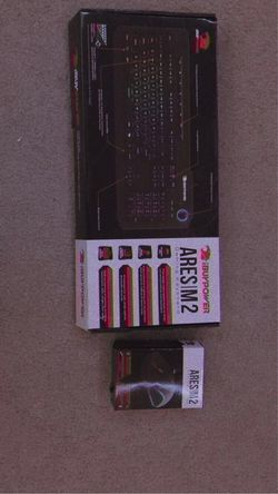IBUYPOWER Ares M2 Gaming Keyboard And Mouse. for Sale in Hauser,  ID