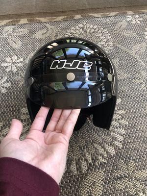 Black HJC 3/4 Helmet (S/M) for Sale in Burnt Chimney, VA