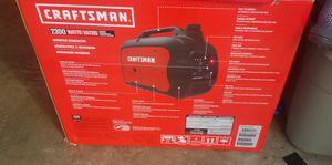 2300w craftsman generator for Sale in Glenarden, MD