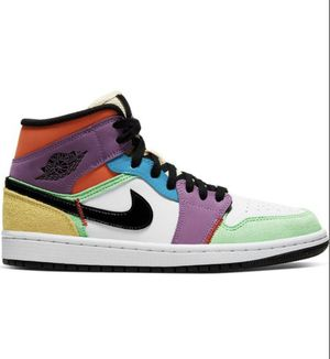 WOMEN'S Supreme Nike Air Jordan 1 Mid Women's 6.5 sneakers shoes sports AMAZING PRICE! for Sale in Los Angeles, CA