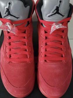 Jordan 5 Red Suede for Sale in Franklin,  TN