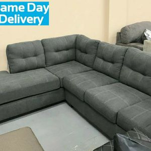 ♻️💲39 Down Payment🍒SPC.Maier Charcoal LAF Sectional by Ashley for Sale in Jessup, MD
