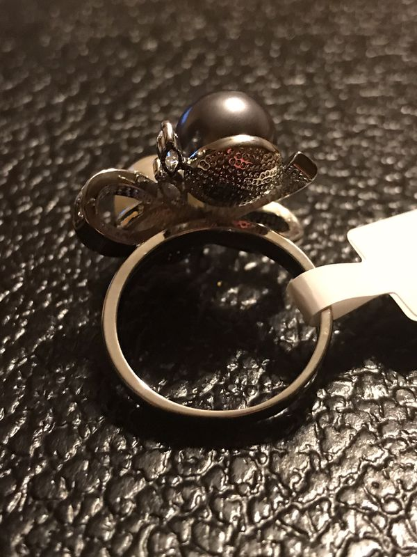 BRAND NEW GERMAN SILVER LADIES RING SIZE 7