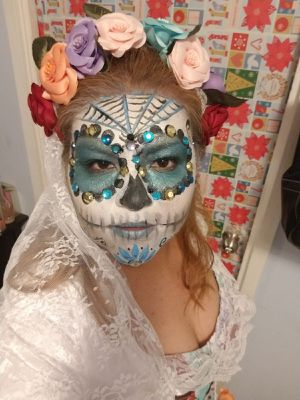 Catrina Face Painting for Sale in Los Angeles, CA