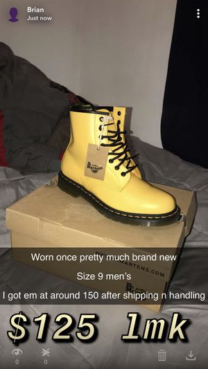 Doc Martens men's size 9 for Sale in Surprise, AZ
