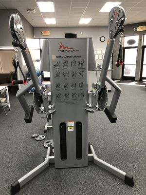 FreeMotion Dual Cable Cross Machine exercise workout physical gym equipment for Sale in Utica, MI
