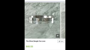Silver bracelet for Sale in Annandale, VA