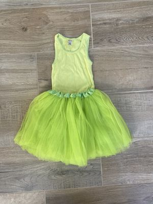 Shirt and Tutu for Tinkerbell Costume 2T for Sale in San Diego, CA