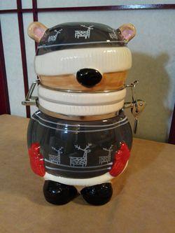 Ceramic Bear Canister for Sale in Springfield,  VA