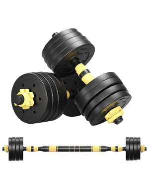 40Kg Weights Dumbbells Set Adjustable Free Weights Set for Sale in Sterling Heights, MI