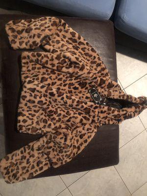 Women's leopard print jacket for Sale in Artesia, CA