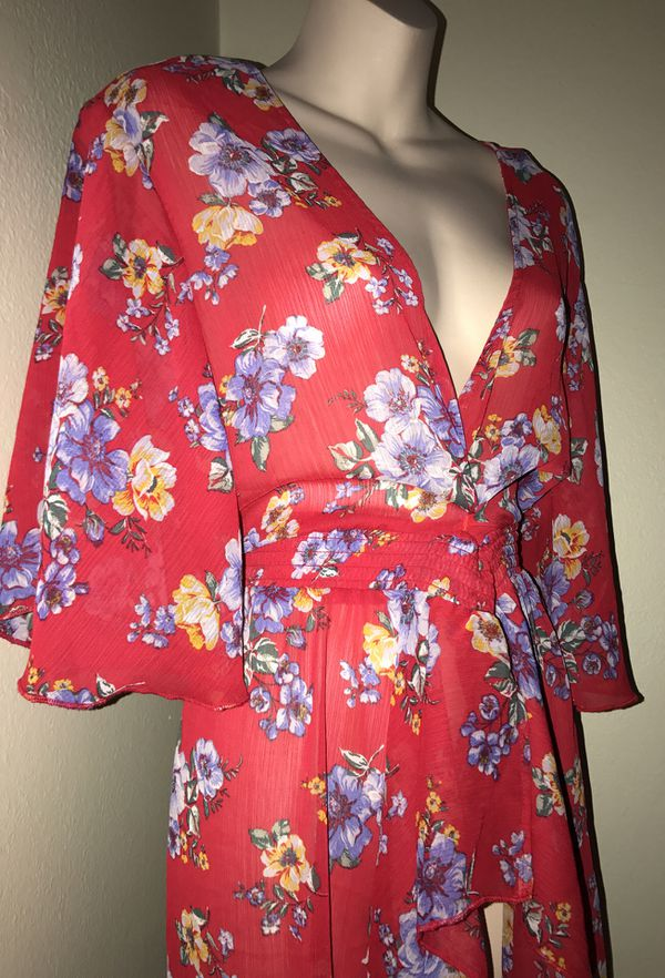 MOVING & CLOSEOUT SALE !!! New Beautiful floral holiday dress kimono for sale !!!