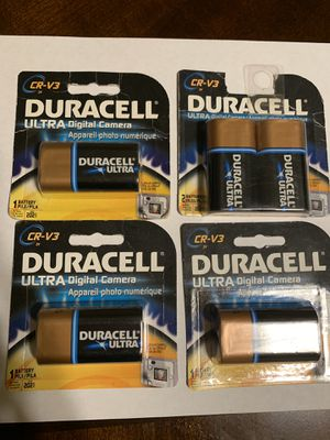 Duracell Ultra Digital Camera Batteries (NEW) for Sale in Bakersfield, CA