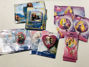 Anagram Assorted Disney princess balloons decorations bundle Mylar for Sale in Miami, FL