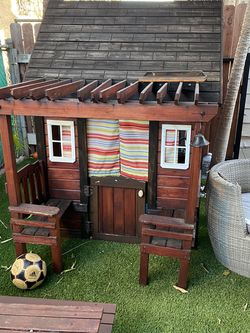 Outdoor Play House Wood Cottage Style for Sale in Vernon,  CA