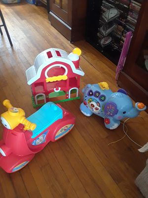 3 Toys brand Fisher-Price All For One Price $25 for Sale in New Haven, CT