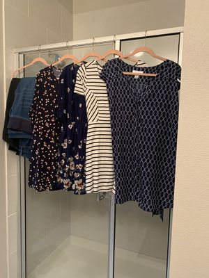 Maternity Clothes- Size 2x Tops and Size 20 jeans for Sale in Grapevine, TX