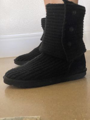 Ugg Black Boots for Sale in Dripping Springs, TX