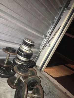 Weights, dumbbells, bars .88 / lb obo for Sale in Ocala, FL