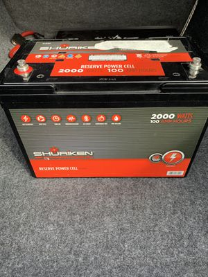 Car audio battery for Sale in Port St. Lucie, FL