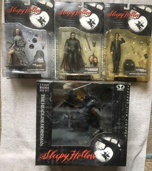McFarlane Sleepy Hollow Complete Set for Sale in Redford Charter Township, MI