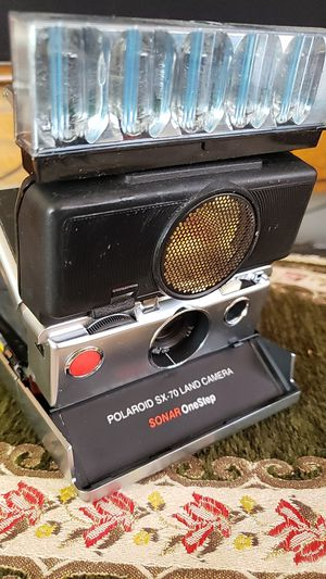 Polaroid sx-70 land camera for Sale in Lancaster, CA