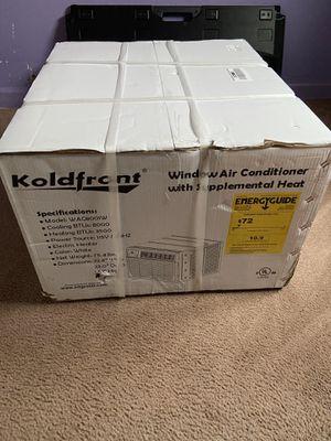 Koldfront window Air & Heat Unit for Sale in Washington, DC