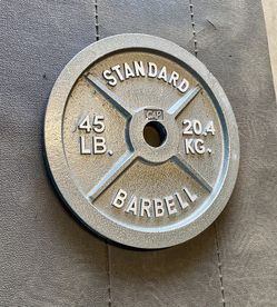 SINGLE- 45 Lb Olympic Weight Plate for Sale in Jamul,  CA