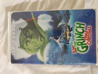 How the Grinch stoled Christmas vhs for Sale in Sylva,  NC