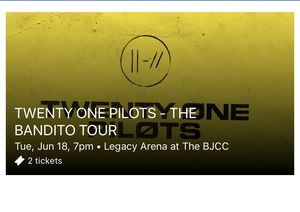 TWENTY ONE PILOTS BANDITO TOUR TICKETS for Sale in North Little Rock, AR