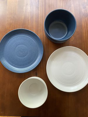 Assorted earthy plates and bowl for Sale in Washington, DC