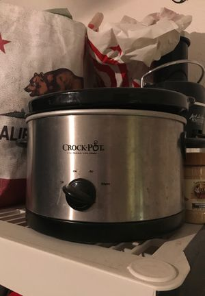 Crock pot works great $20 obo for Sale in Anaheim, CA
