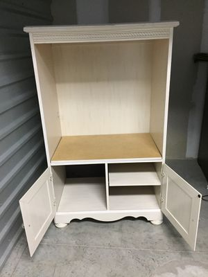 TV Stand or storage unit for your own purpose(pick up) delivery cost more for Sale in Raleigh, NC